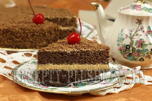 домашний шоколадный торт