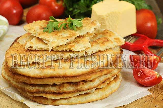 рецепт сырных лепешек на кефире