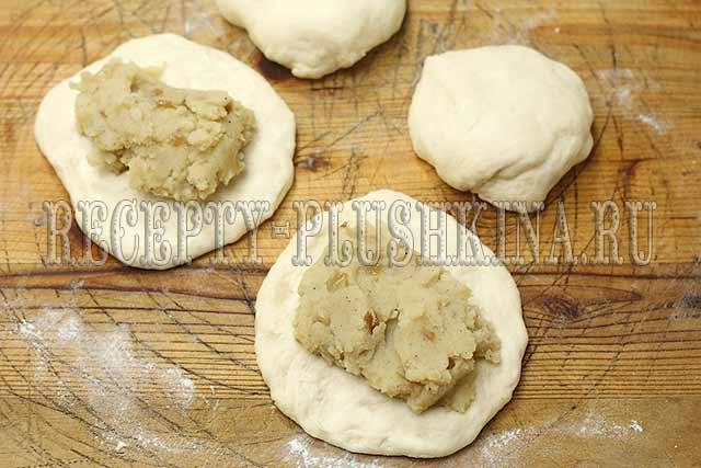 пирожки с картошкой жареные на сковороде рецепт с фото