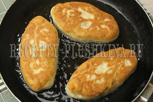 пирожки с картошкой жареные рецепт с фото