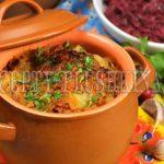 картошка в горшочках в духовке рецепт
