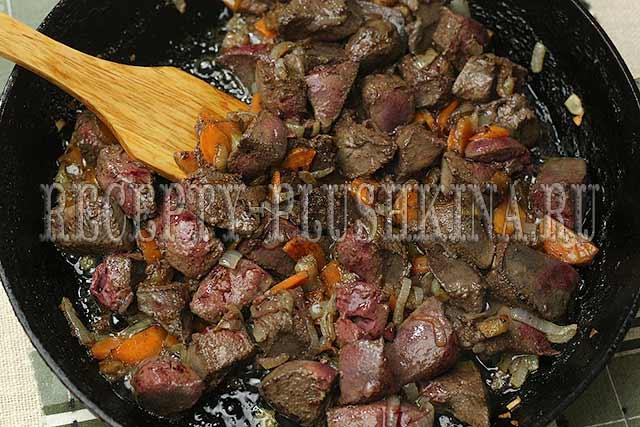 паштет из свиной печени рецепт с фото