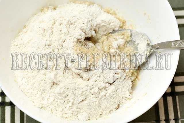 рецепт вкусного печенья из овсяных хлопьев