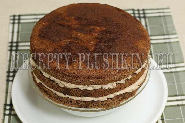 как приготовить торт Прага в домашних условиях