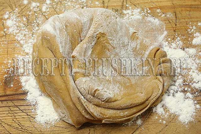 торт рыжик из медовых коржей