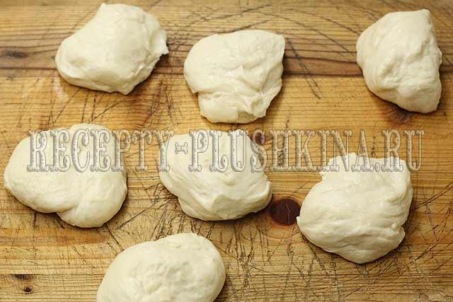 рецепт жареных пирожков с капустой на дрожжах