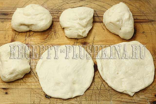 пирожки с капустой жареные из дрожжевого теста
