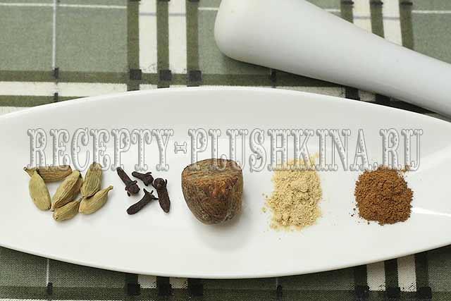 пряности для кексового теста