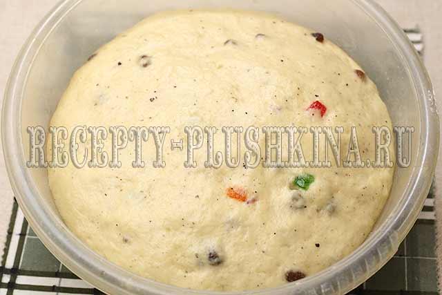 как приготовить кекс панеттоне
