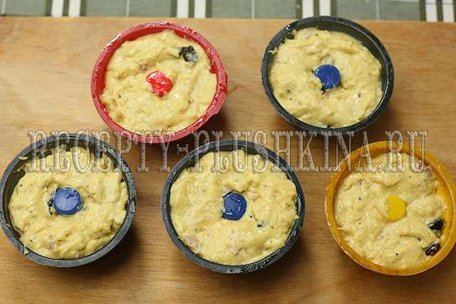 рецепт маффинов с ветчиной и сыром
