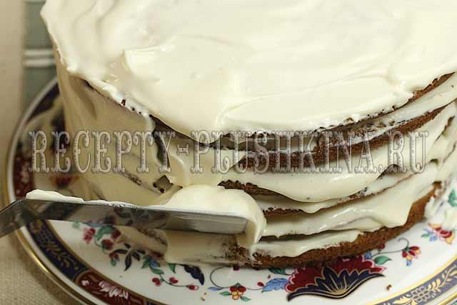 торт снежинка белоснежный воздушный