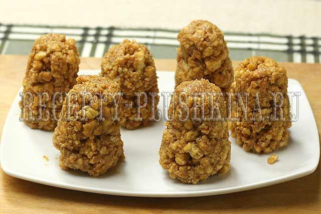 заготовки для печенья шишки