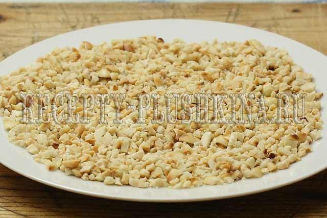 рубленый арахис для печенья