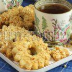 песочные кольца с орехами рецепт