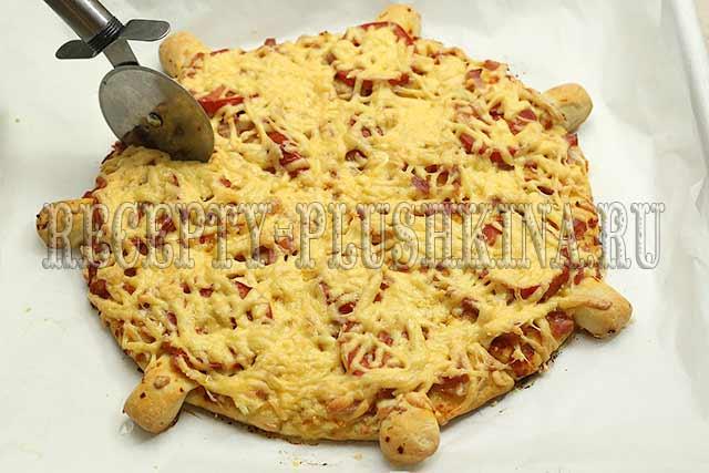 пицца на новый год рецепт