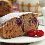 пирог с замороженной вишней рецепт