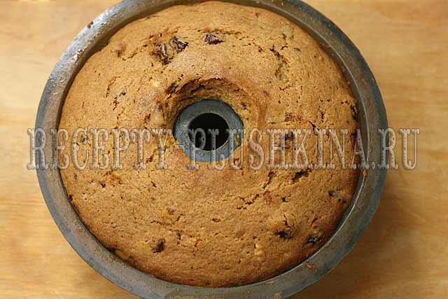 рецепт рождественского кекса с сухофруктами