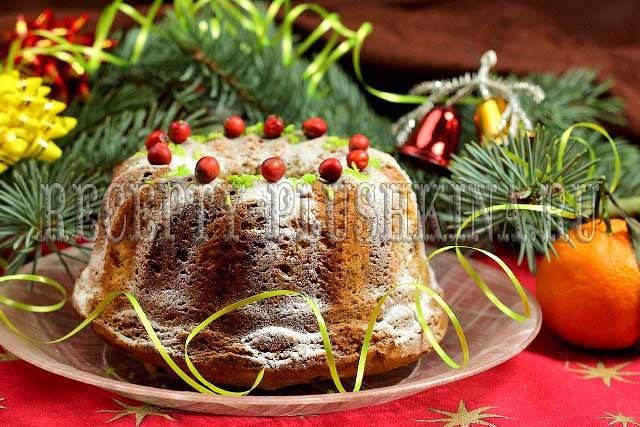 рождественский кекс с сухофруктами и орехами рецепт, 2- рождественский кекс