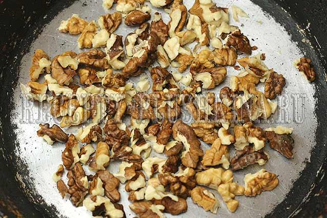 подсушили орехи