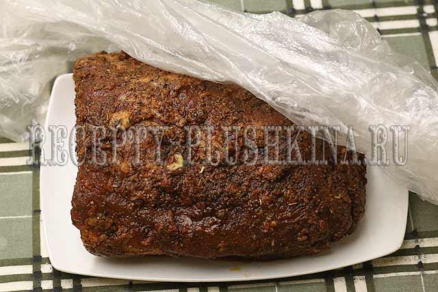 рецепт сочной свинины запеченной в духовке