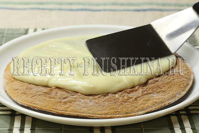 торт медовик классический рецепт с заварным кремом
