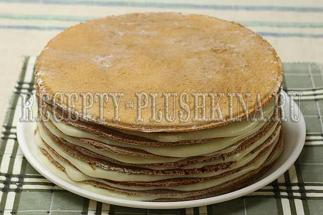 формируем медовый торт