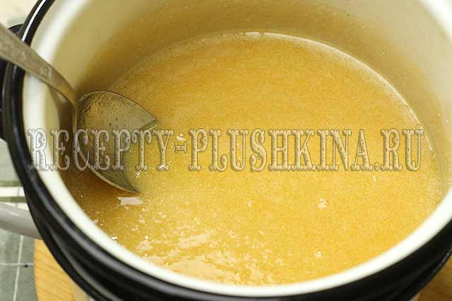 пошаговый рецепт медового торта