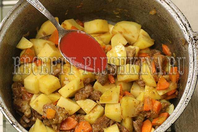 добавили томатный соус