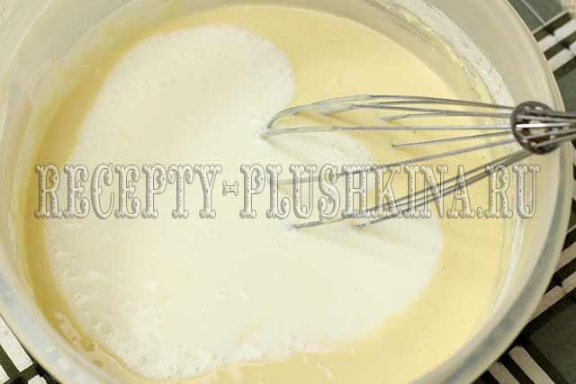 как приготовить блины на молоке и кефире
