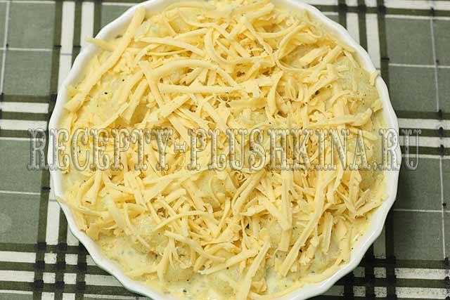 цветная капуста с сыром в духовке рецепт