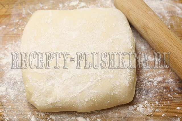 приготовление слоеного теста для торта наполеон