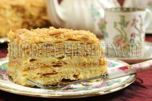 торт наполеон рецепт классический