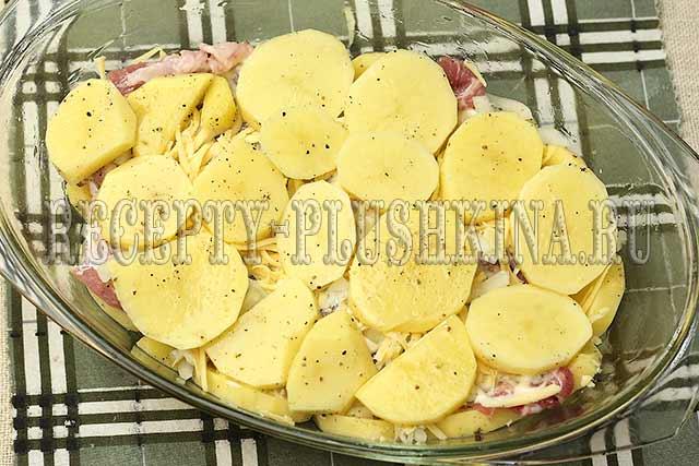 мясо по-французски пошаговый рецепт с картошкой