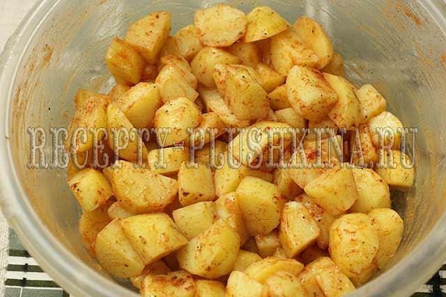 как приготовить ребрышки с картофелем в духовке