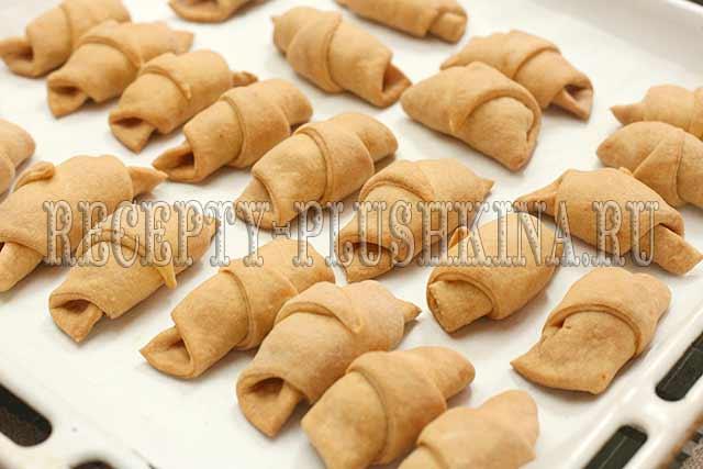 рогалики на сметане рецепты с фото простые и вкусные