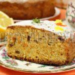 морковный пирог самый простой и вкусный рецепт