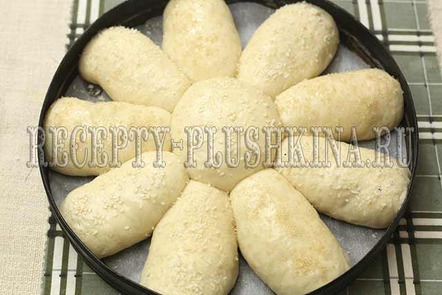 рецепт постного пирога с начинкой из яблок