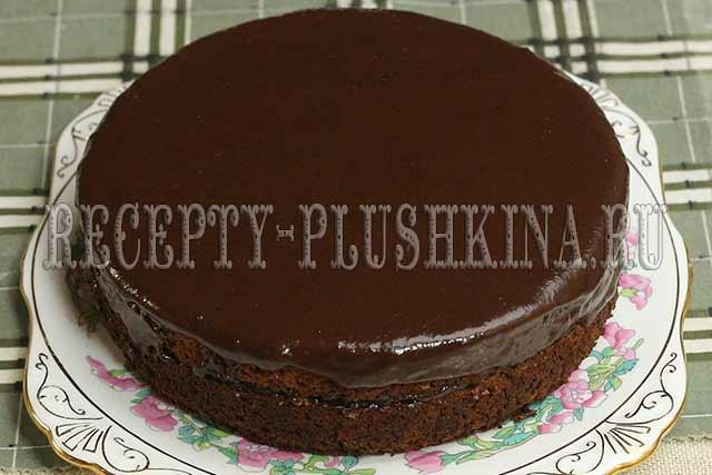 постный шоколадный торт рецепт с фото
