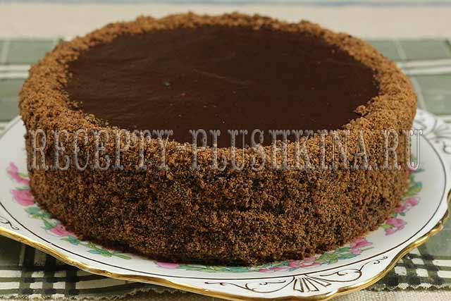 как украсить постный торт