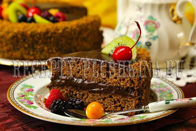 постный торт рецепт