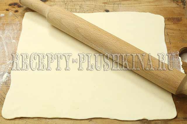 раскатали тесто
