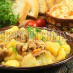 рагу из свинины с картошкой рецепт