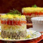 салат Мимоза с сайрой рецепт классический