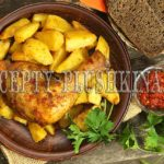 куриные ножки в духовке с картошкой рецепт