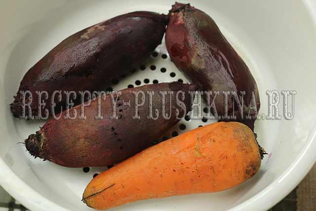 отварили овощи