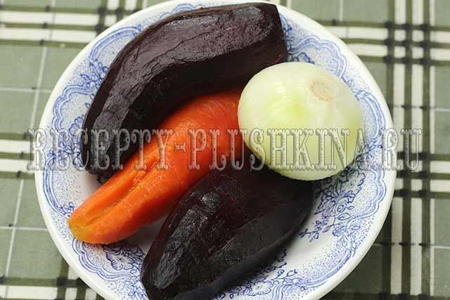 очистили овощи