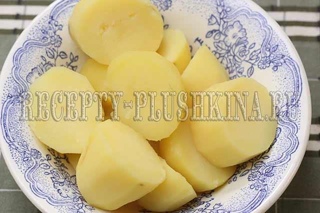 сварили картофель