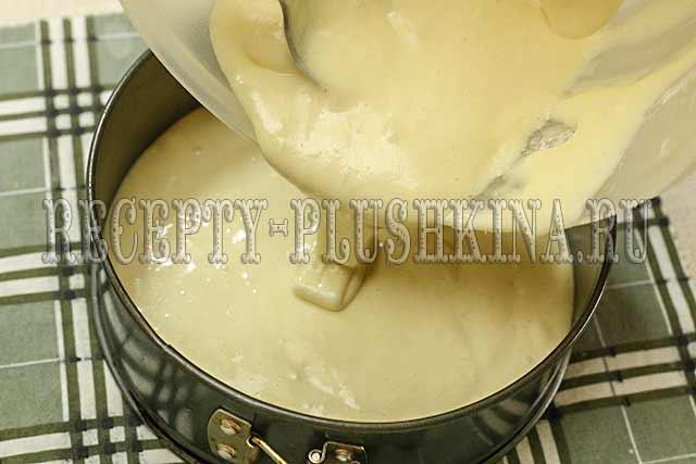бисквитное тесто для шарлотки