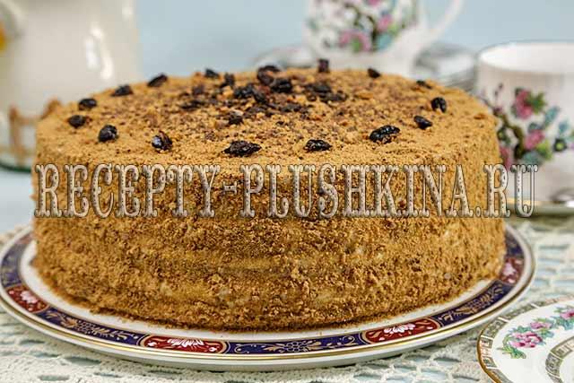 медовый торт Особенный, 2-медовый торт Особенный самый вкусный медовик
