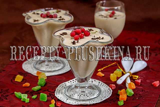 десерт из ряженки